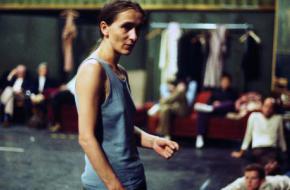 Repetitie met Pina Bausch in de Lichtburg, ca. 1978. © Ulli Weiss