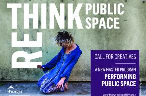 Nieuw Masterprogramma: Performing Public Space