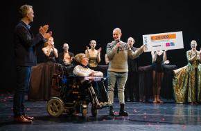 Scapino Ballet Rotterdam, Bonnie Doets, cheque, spierziekte, Prinses Beatrix Spierfonds, free to move