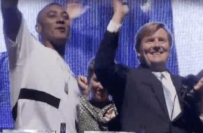 De dansmoves van Koning Willem Alexander