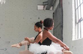spitzen passen ballet danseres