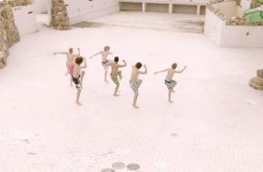point taken, zwemmen of verzuipen, dansfilm, 2014, Jaakko Toivonen en Michiel Vaanhold