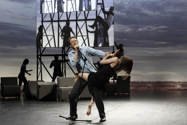 Foto Jeff Busby, Anouk van Dijk/Falk Richter - Complexity of Belonging, Chunky Moves